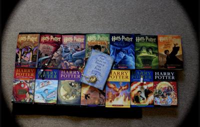 Stock harry potter books
