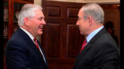 Tillerson Netanyahu