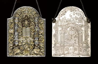 You can buy an 18th-century Torah shield that matches the Israel Museum's (if you have $1M)