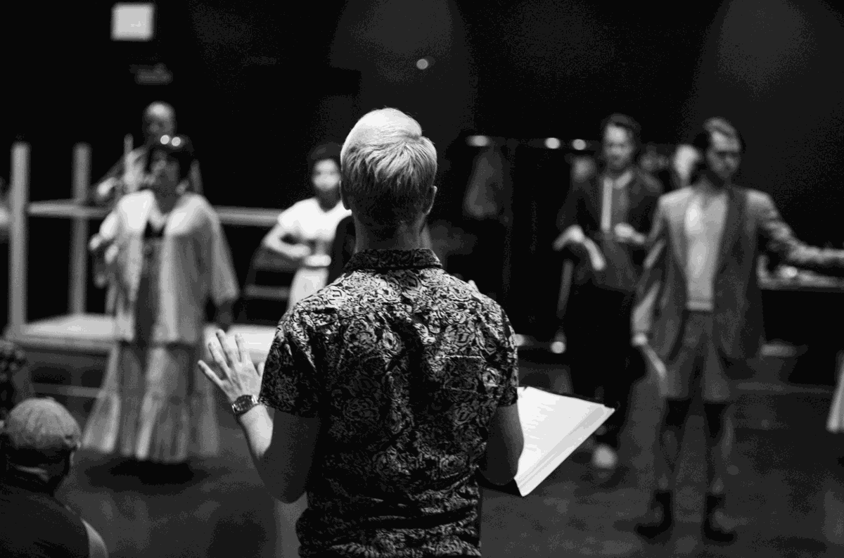 Jane Eyre rehearsal