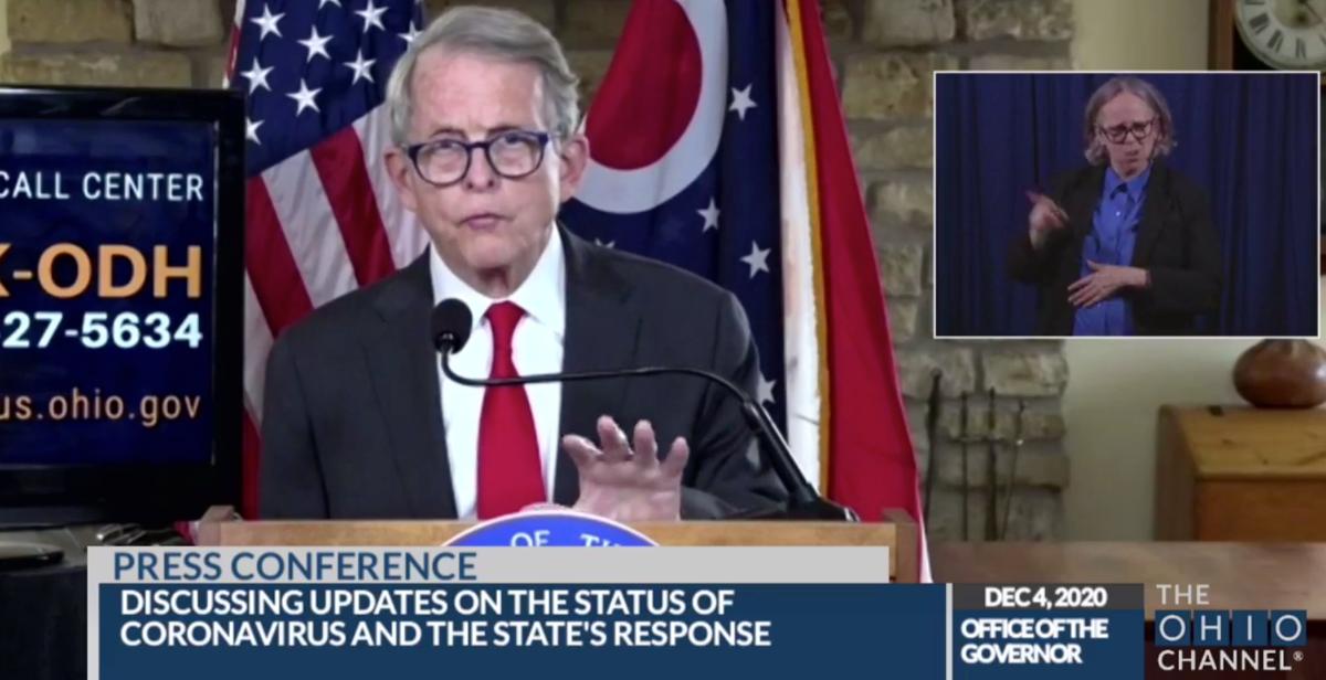 Dewine Outlines Ohio S Plan For Covid 19 Vaccine Local News Clevelandjewishnews Com