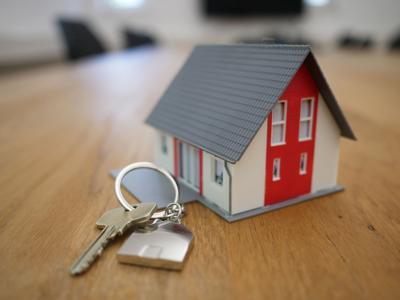 stock home house keys