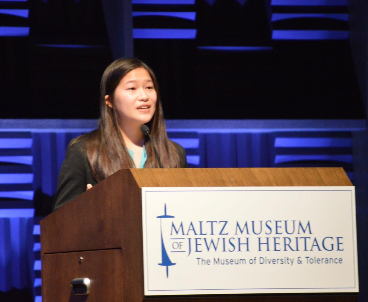Orange junior earns top prize in 'Stop the Hate' essay contest ...
