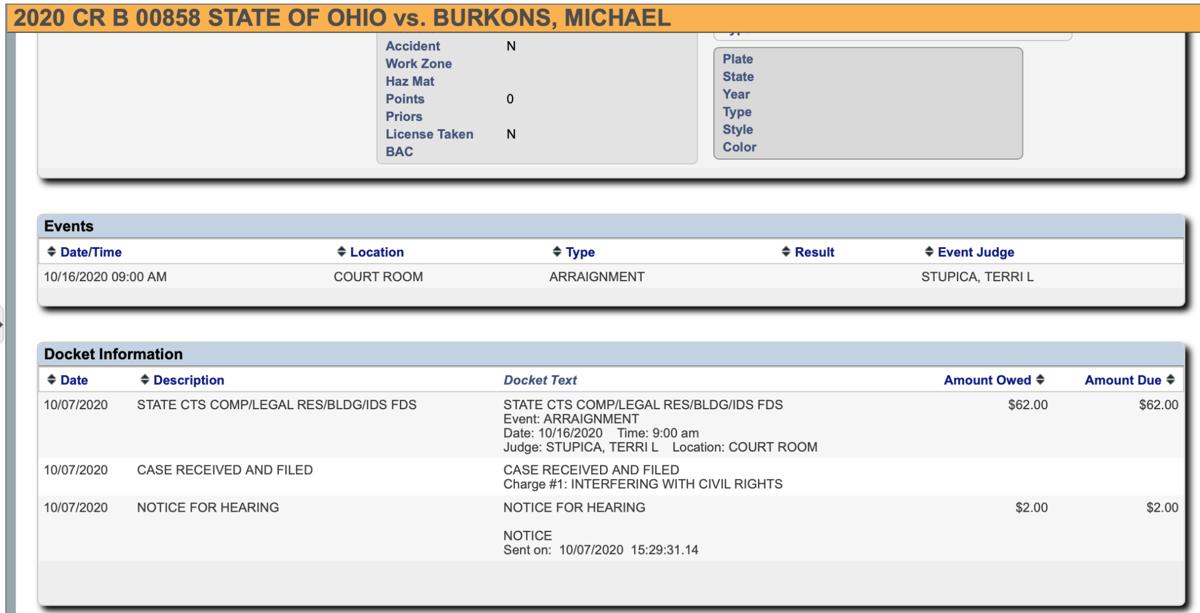 Burkons arraignment Chardon