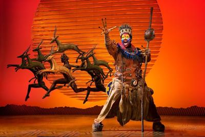 """The Lion King"" on tour"