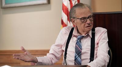 Larry King is hospitalized with COVID
