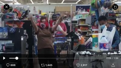 Couple wearing swastika masks at Walmart in Minnesota confronted by other shoppers