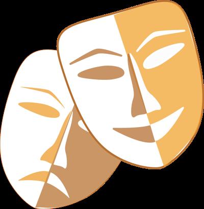 stock theater masks
