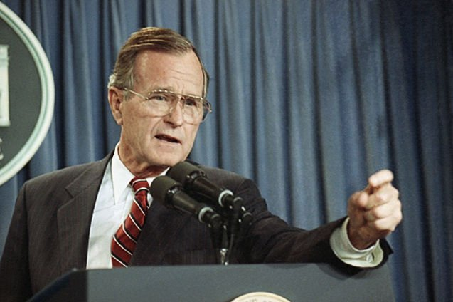 Image result for george h. w. bush peace deal israel