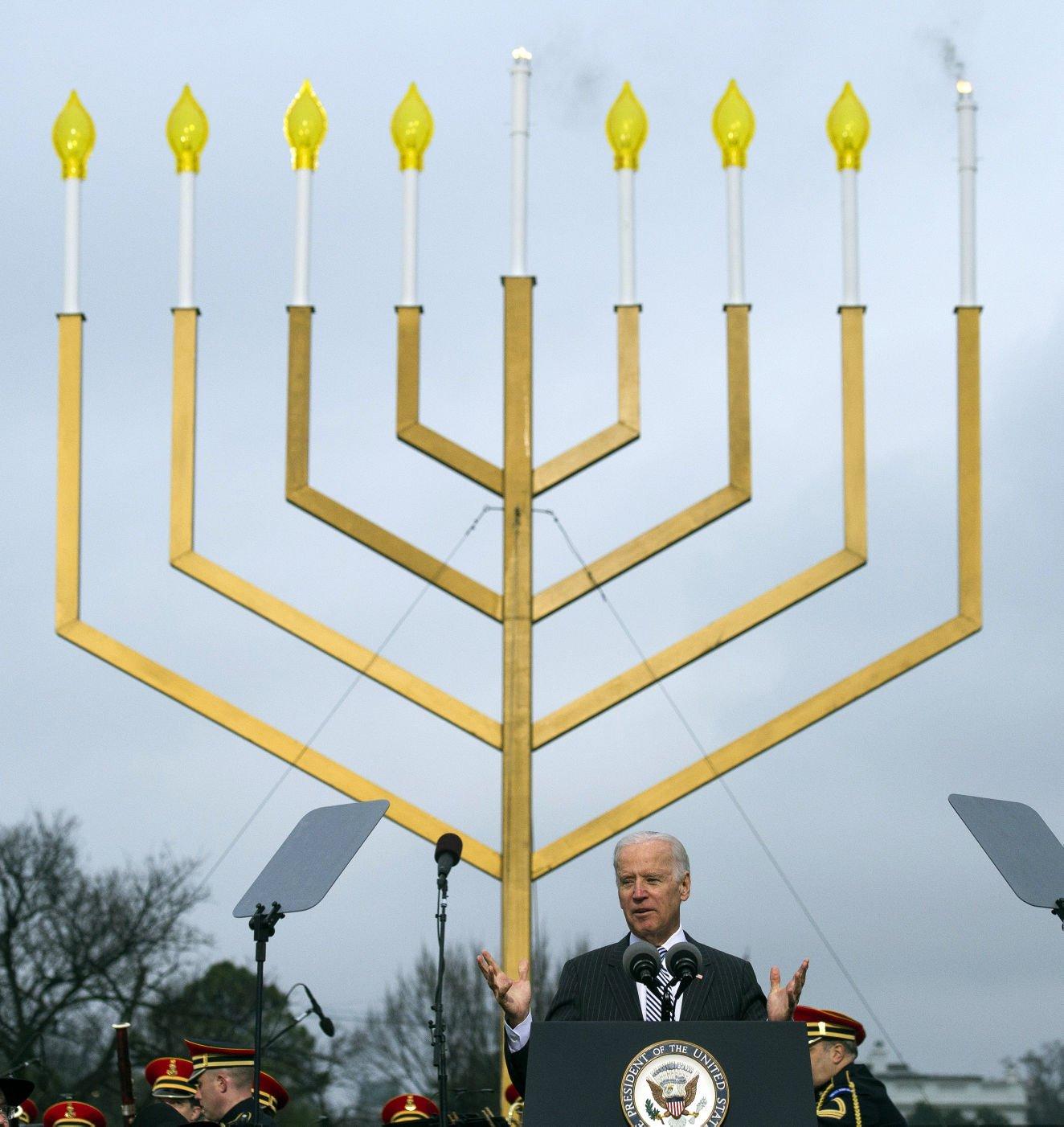 Biden At Chanukah Candle Lighting: Jewish Heritage Is American Heritage