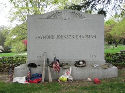 Ray Chapman grave
