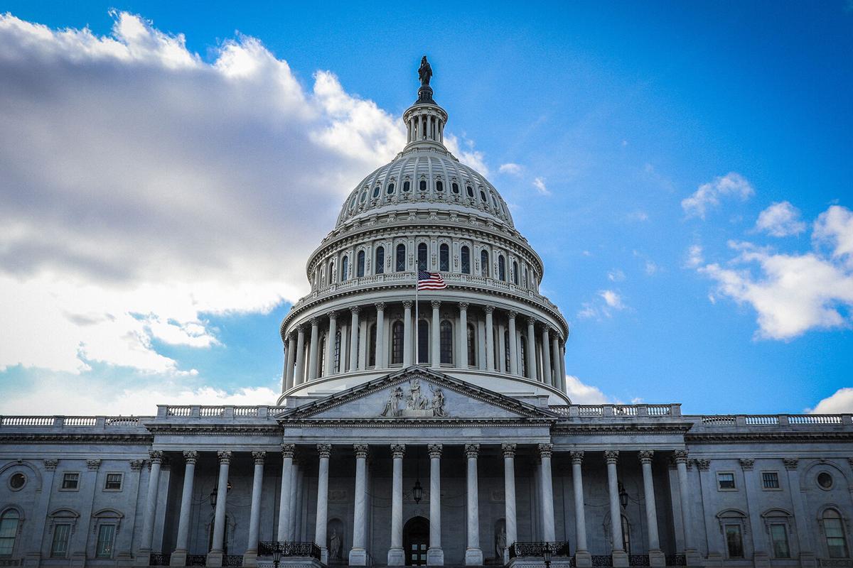 stock US Capitol building