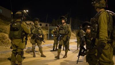ISRAEL ARMY NACHSHON BATTALION