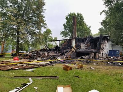 Swastika found on garage of house that exploded in Wayne