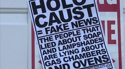 Anti-Semitic flyers were posted at a synagogue in Marblehead, Mass.