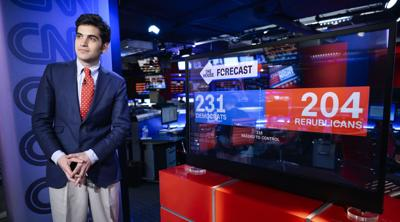CNN election forecaster Harry Enten on his bar mitzvah, the 2020 Jewish vote and why he says 'Shalom' on TV