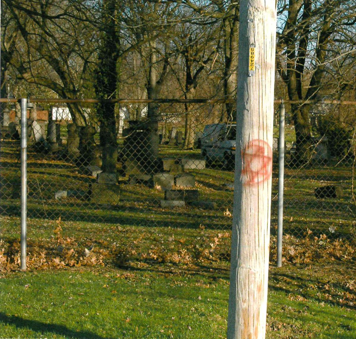 Lansing Avenue Jewish Cemetery vandalism