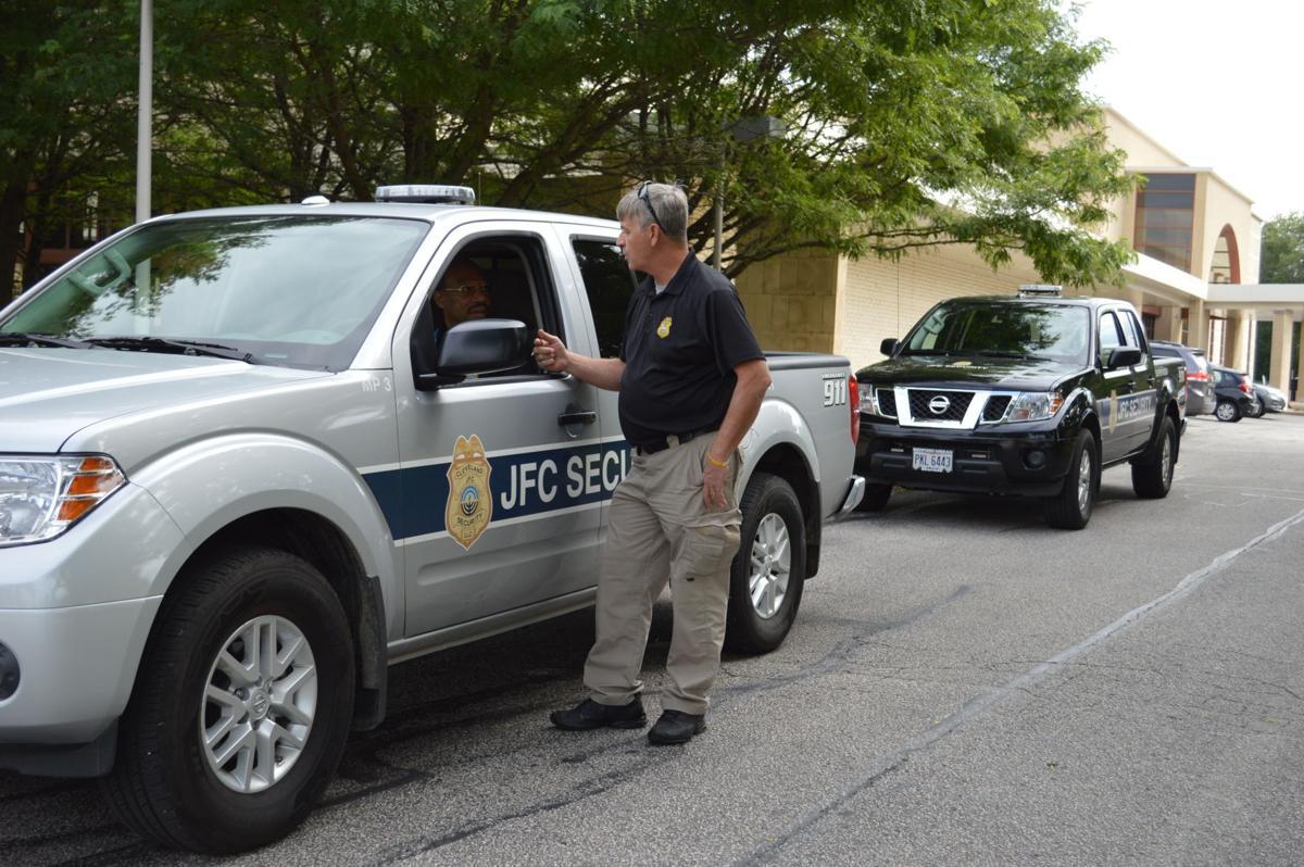 Brady Rieman Jewish Federation security