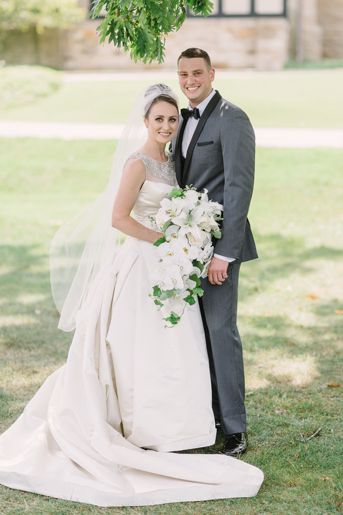 Kirtland Country Club wedding photos with Laura and Zack