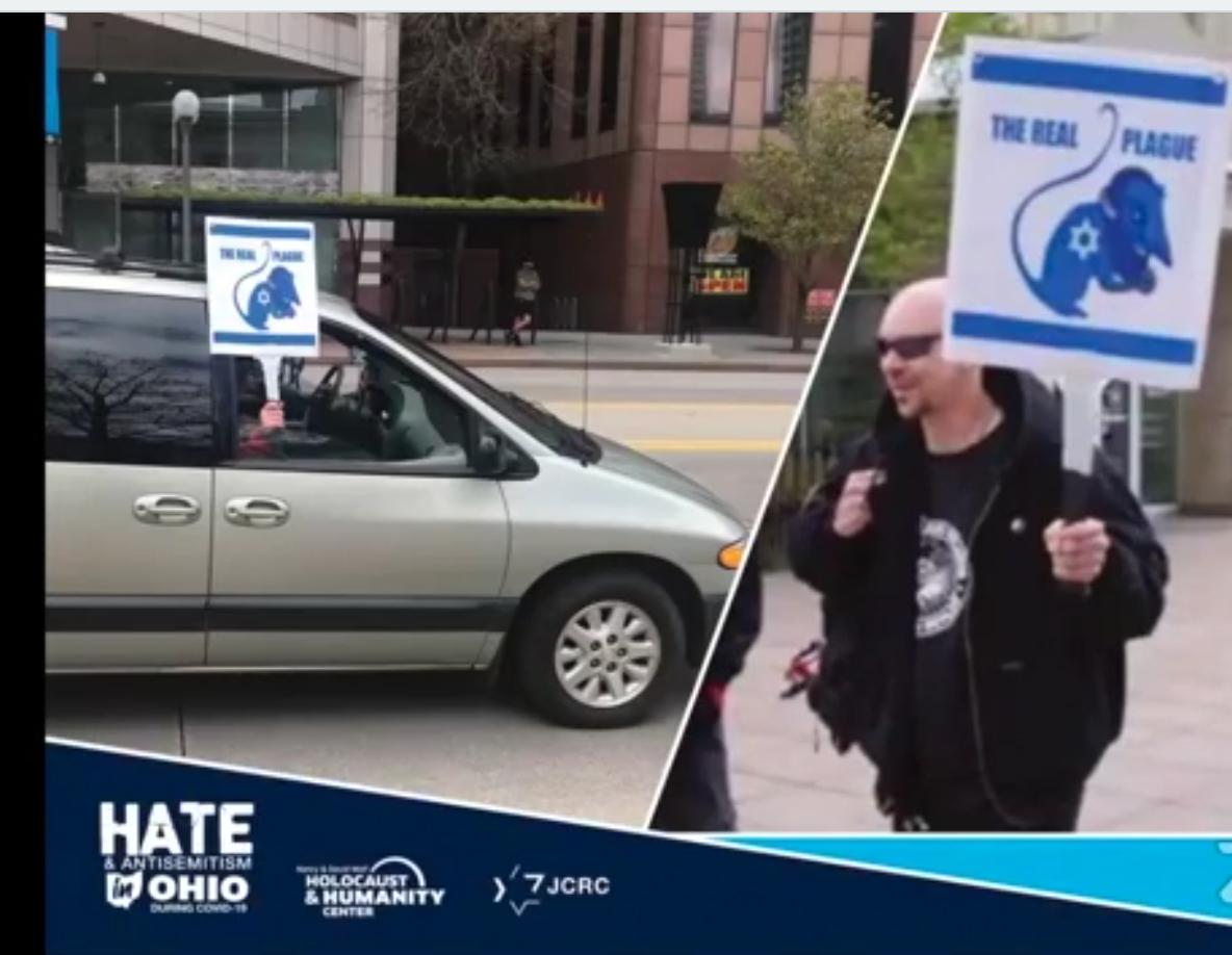 Columbus protester