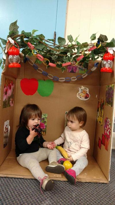 Sharing in the sukkah