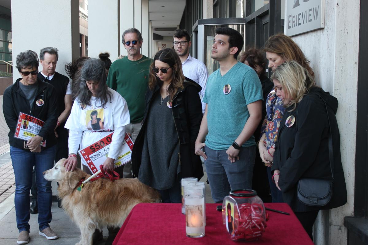 Aliza Sherman 4-year anniversary moment of silence