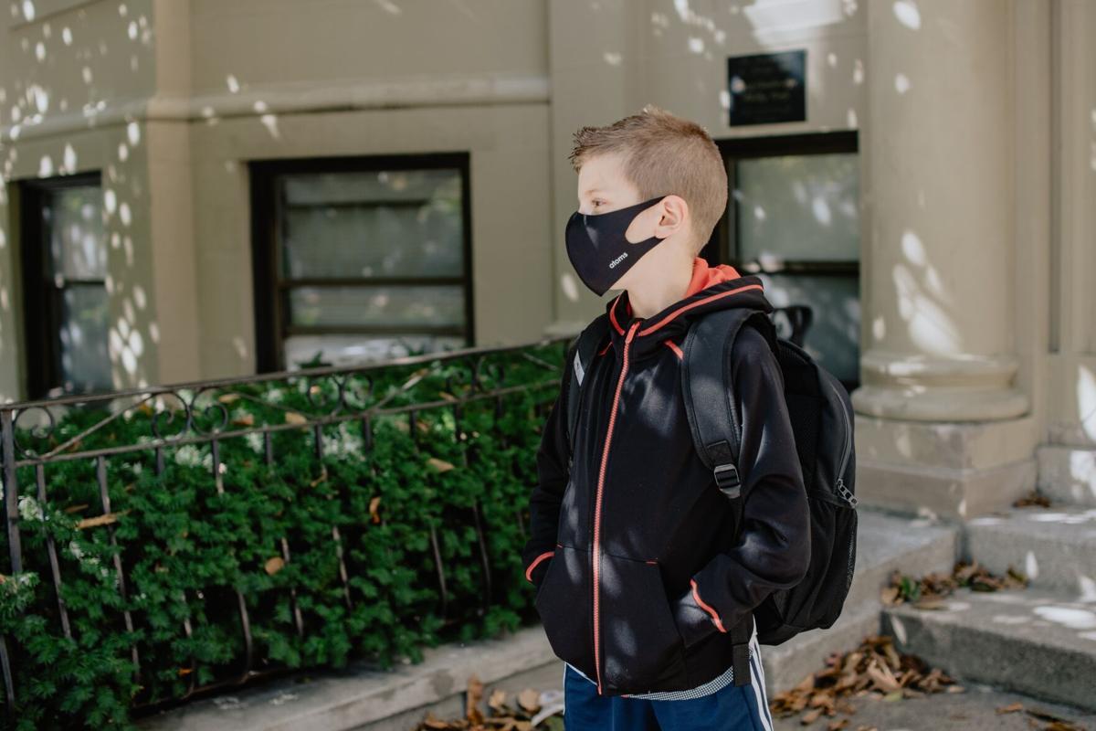 Stock mask student