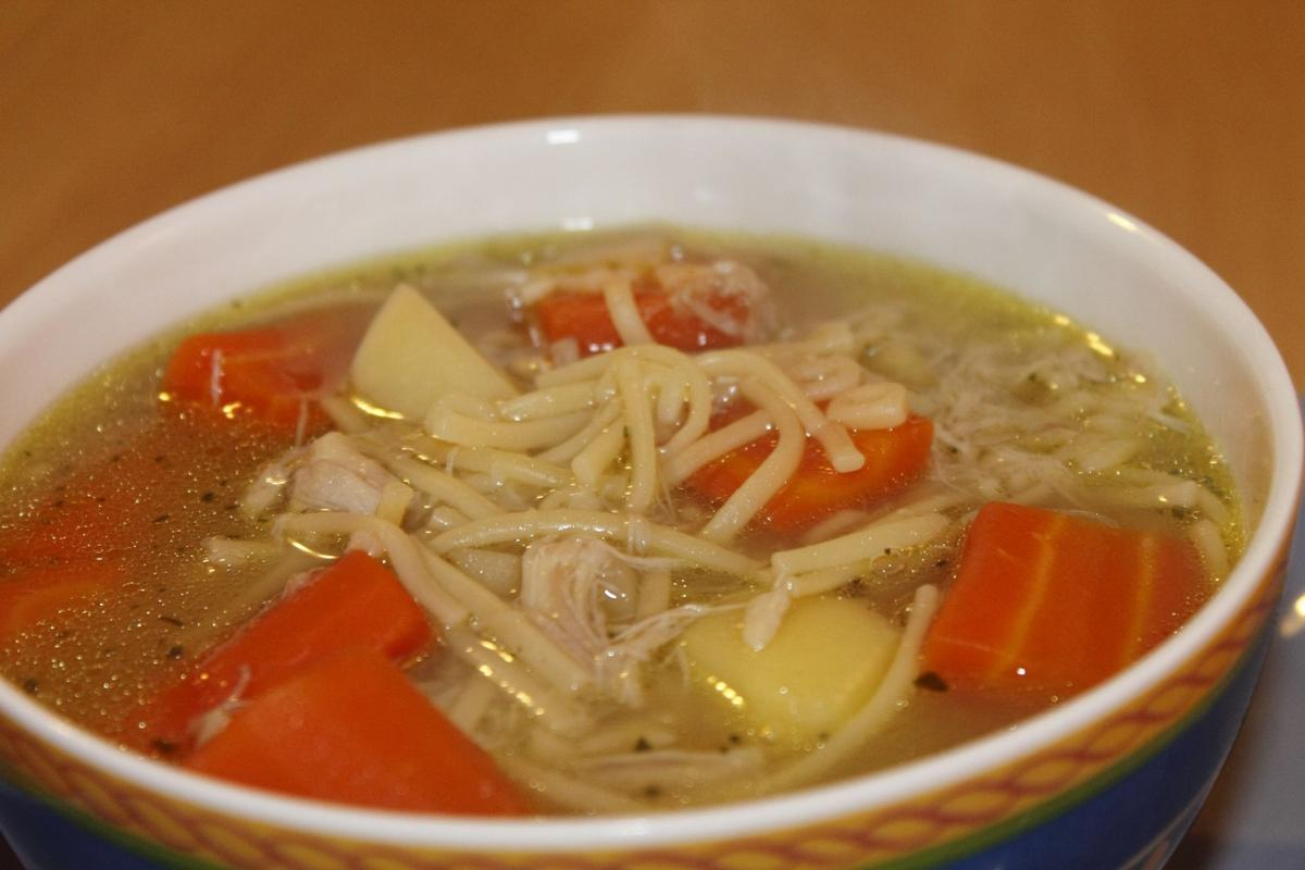 Stock soup chicken
