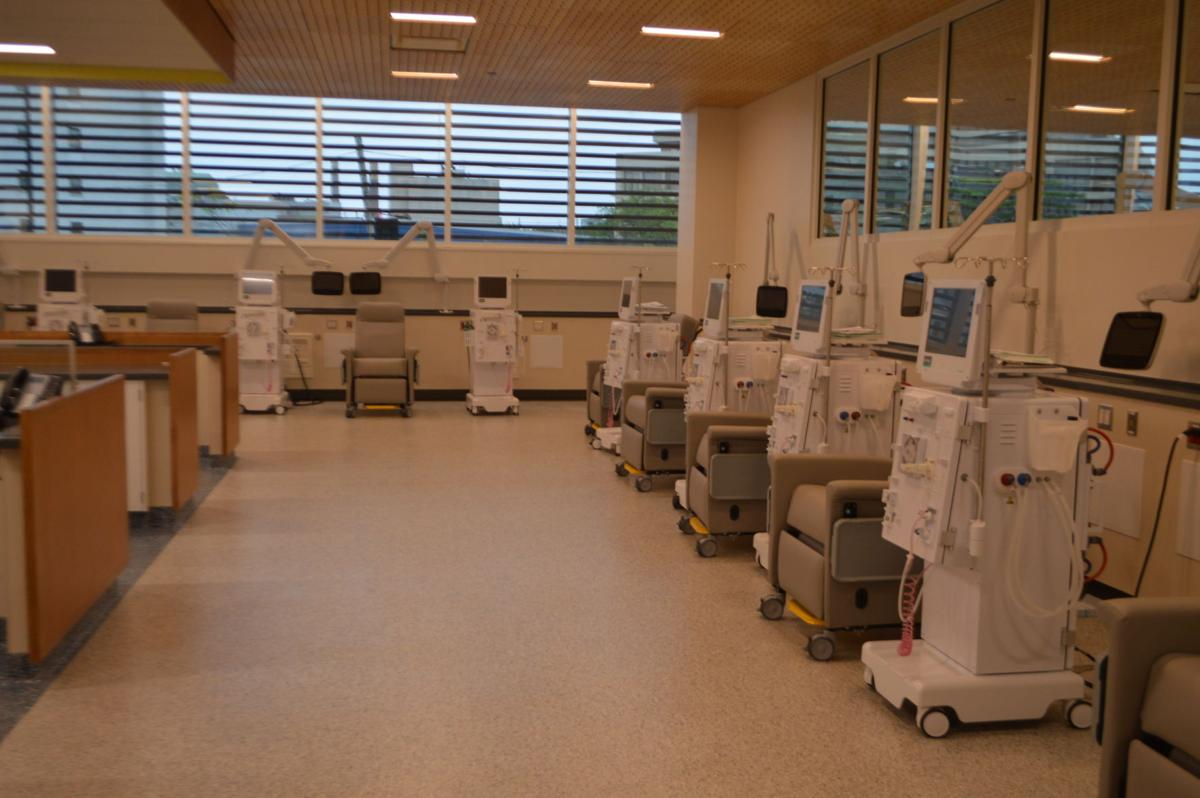 Center for Dialysis Care treatment area