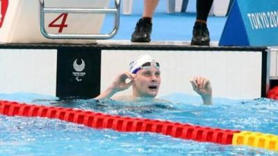 Israeli Paralympic swimmer Mark Malyar
