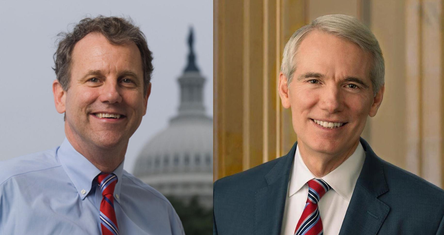 Ohio's U.S. senators condemn Capitol attack