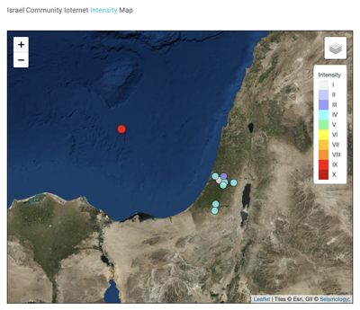 Earthquake off coast of Israel rocks Haifa