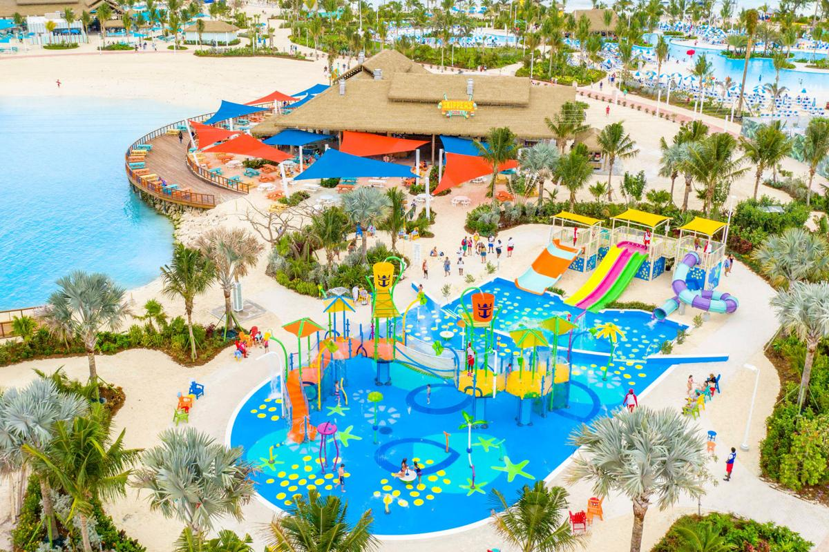 Perfect Day at Coco Cay Splashaway Park Aerial