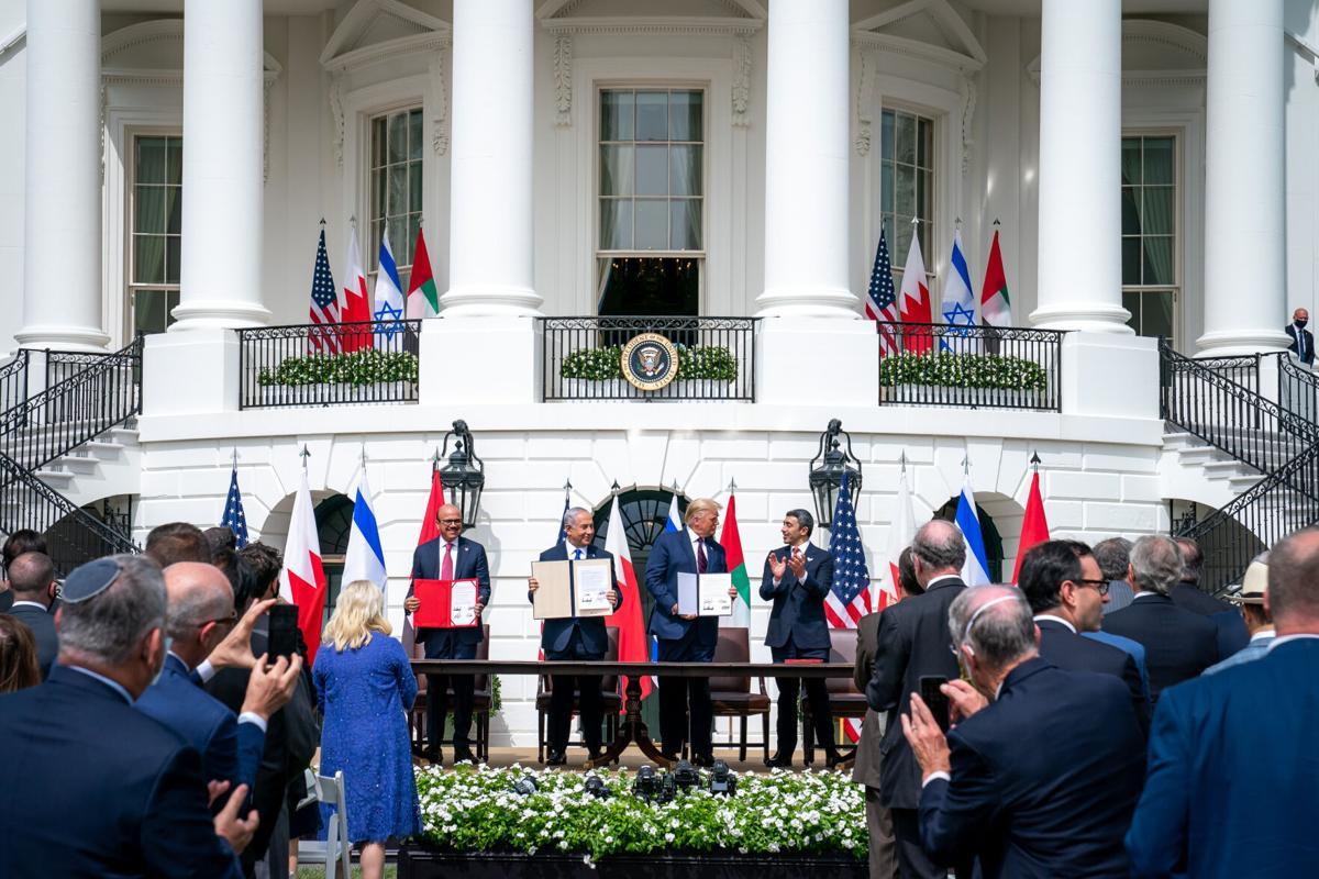 Israel, UAE, Bahrain signing