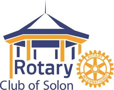 Rotary club of Solon logo