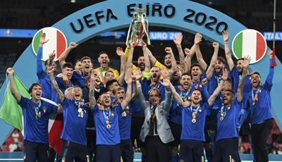 APTOPIX Britain England Italy Euro 2020 Soccer