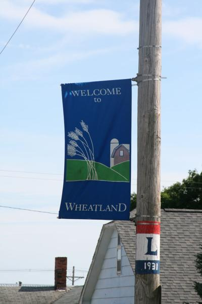 wheatland iowa sign