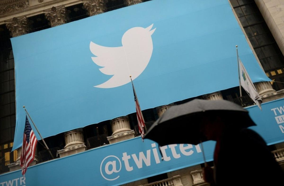 Twitter shares fall after earnings show up early...on Twitter