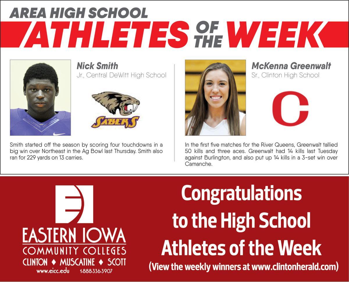 Athletes week 1