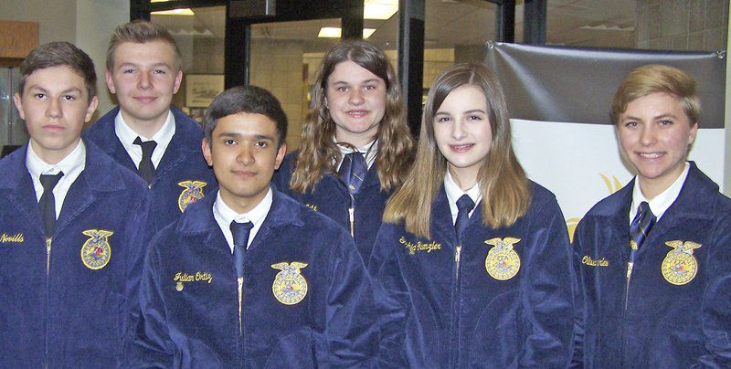 West Carroll FFA places in competition