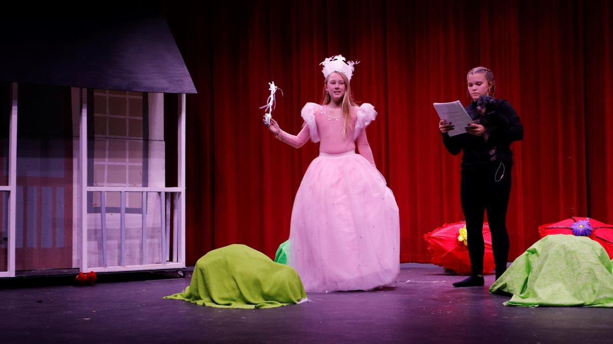 Elle Lonergan as the Good Witch, Dorothy, Maddie Phelps
