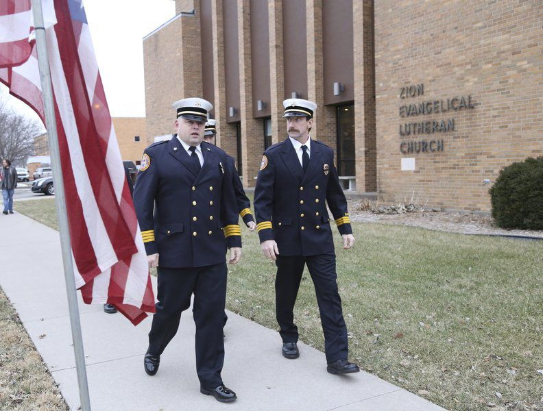 Representatives from Iowa City Fire Department