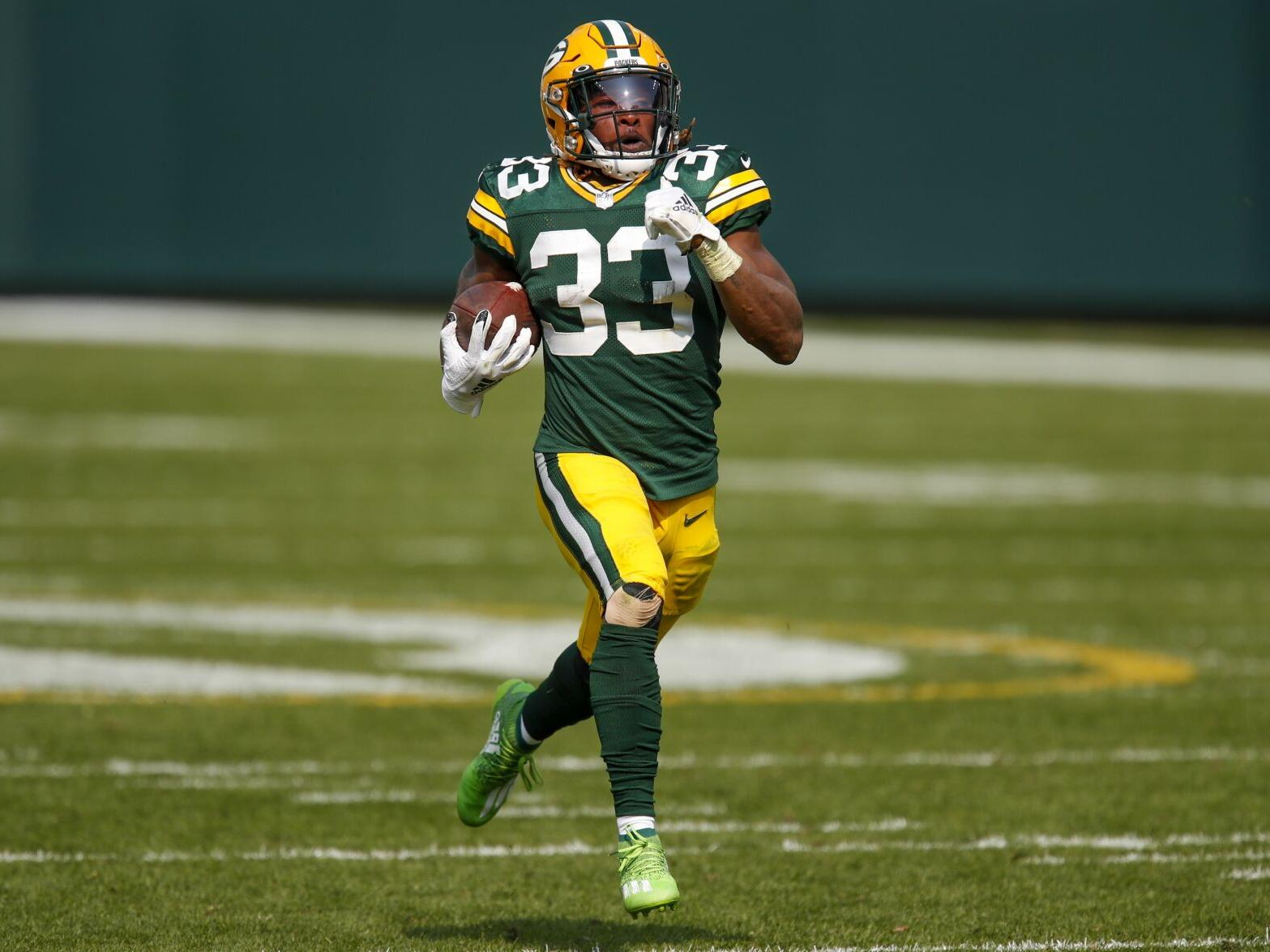 Packers Aaron Jones Making His Case For Contract Extension Sports Clintonherald Com