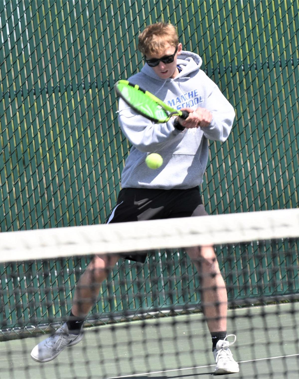 Camanche tennis falls just short, will play Saturday