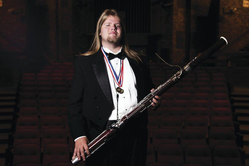 Hicks plays with All-State Band