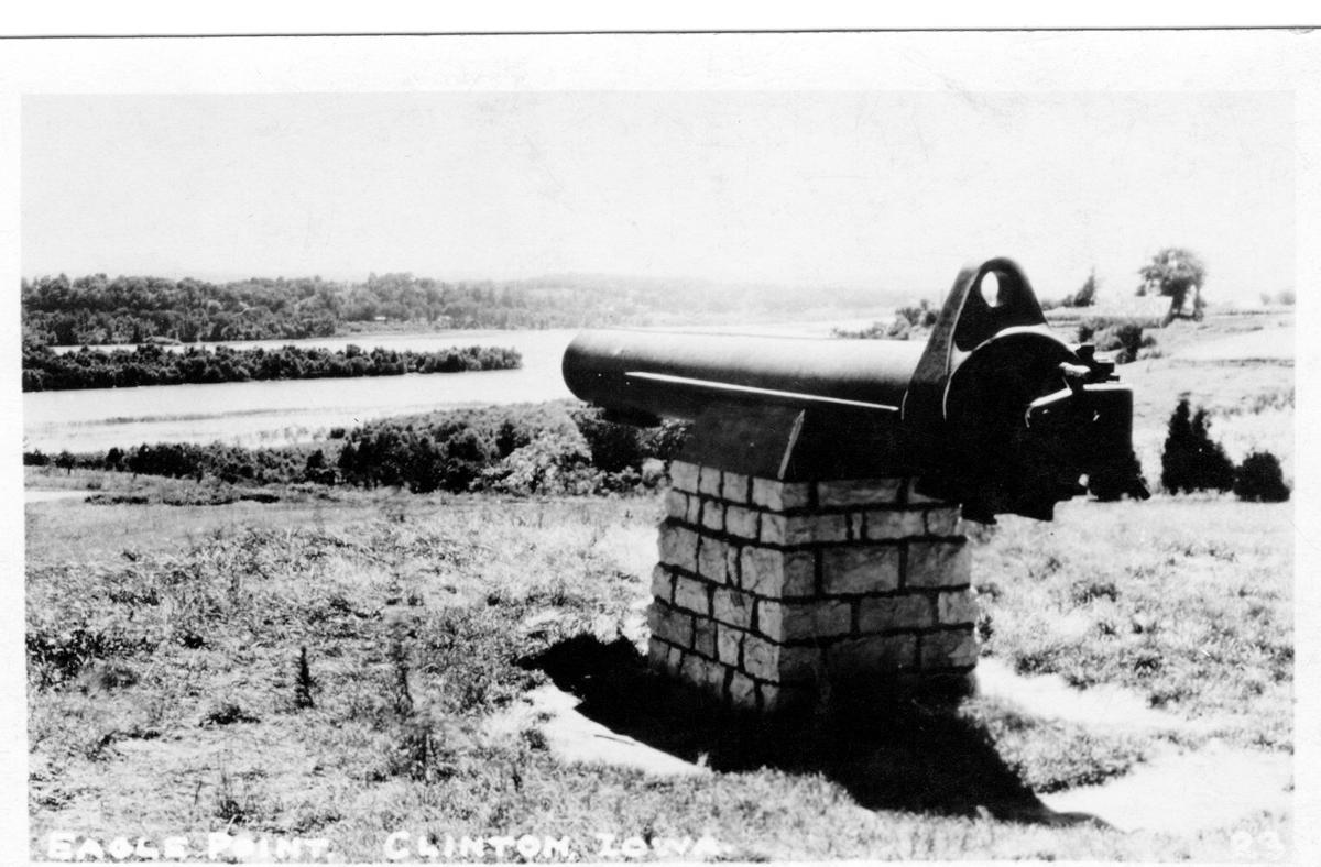 Cannon at Eagle Point Park