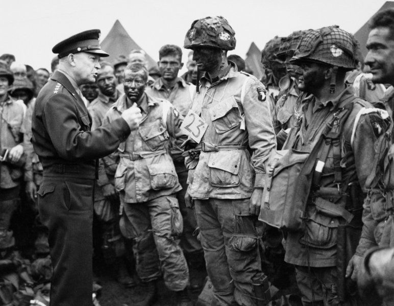 Clinton man parachuted behind enemy lines during invasion