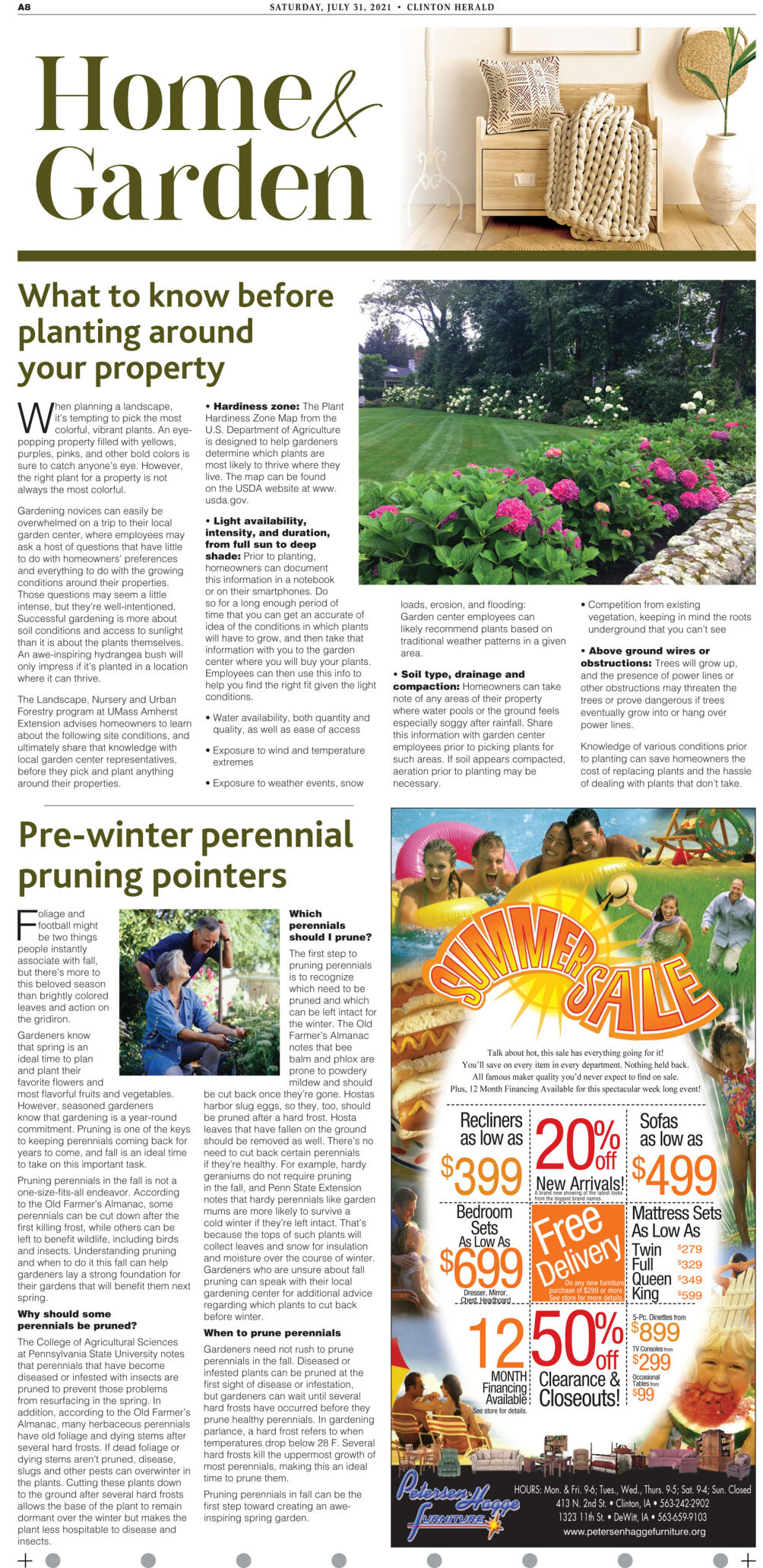 Home and Garden page 1