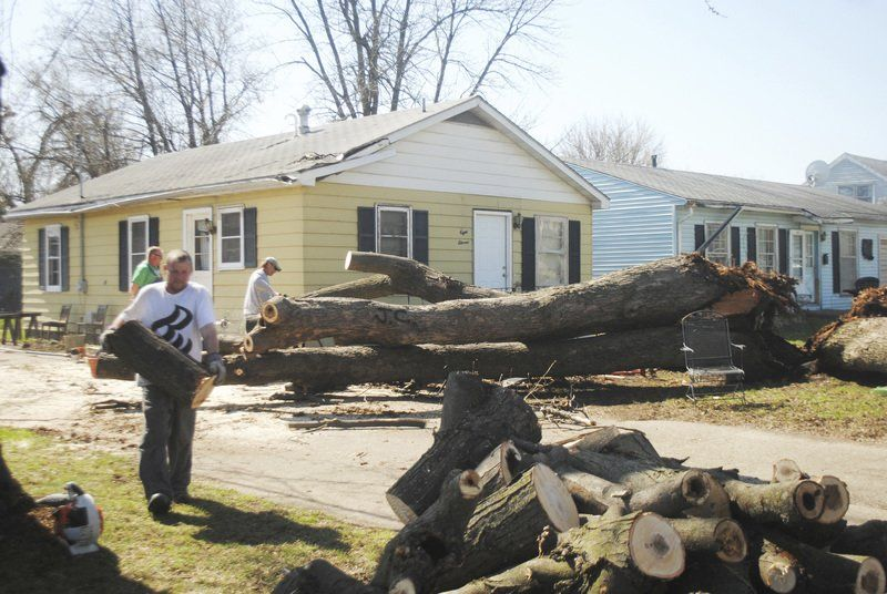 Storm cleanup continues