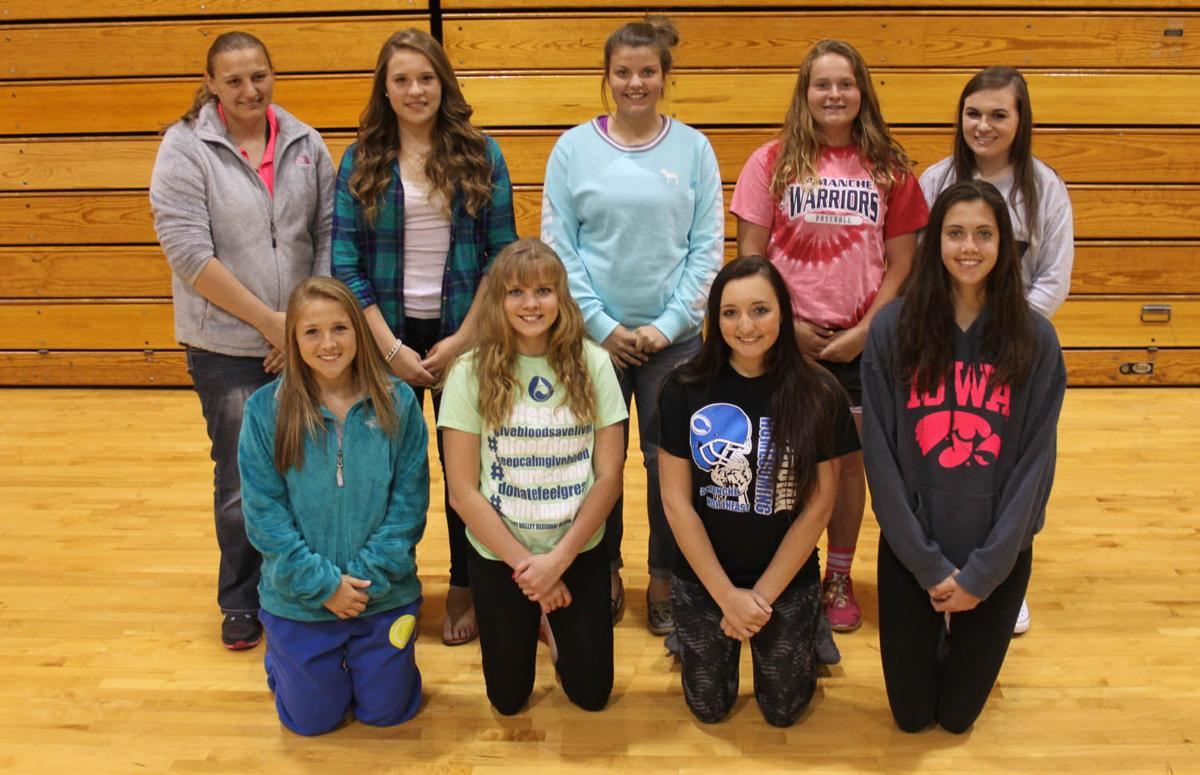 2015 Camanche High School girls tennis team